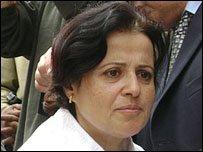 Secretary General of the Doctors' Syndicate Mona Mina