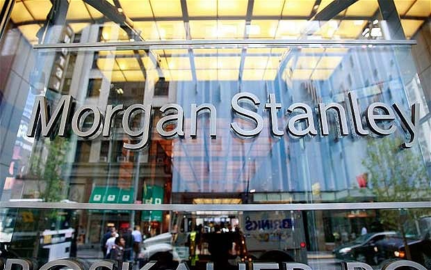 "Morgan Stanley lowered its industry view on internet stocks to ""in-line"" from ""attractive,"" saying growth in the sector needs to accelerate to justify current valuations. (AFP Photo)"