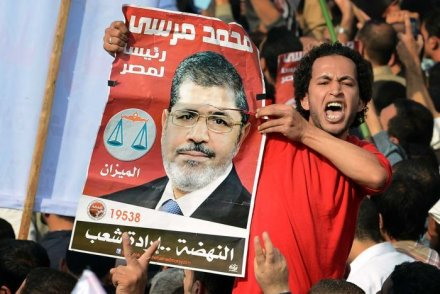 "Al-Nour Party said they had warned the Muslim Brotherhood about a possible uprising, and had deemed Morsi's 100-day project a ""drastic failure"" (AFP Photo)"