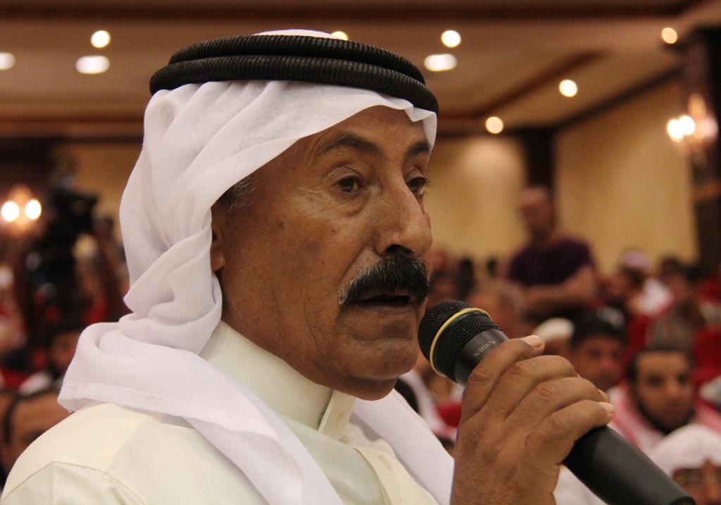 Eissa Al-Kharafin (Photo by Nasser Al-Azzazy)