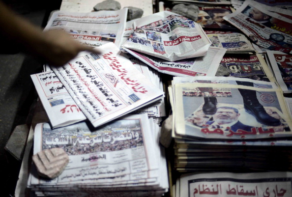 20.6% decline in the number of published newspapers, decreasing from 102 to 81 in 2011 and 2012 respectively (AFP FILE PHOTO/MOHAMED EL-SHAHED)