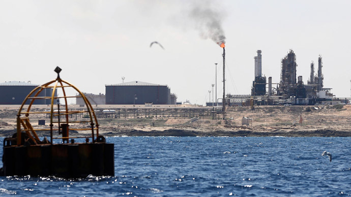 Oil prices rose on Tuesday as doubts surrounding a resumption to full Libyan crude output and the prospect of firmer demand offset concerns over the strength of China's economy. (AFP Photo)