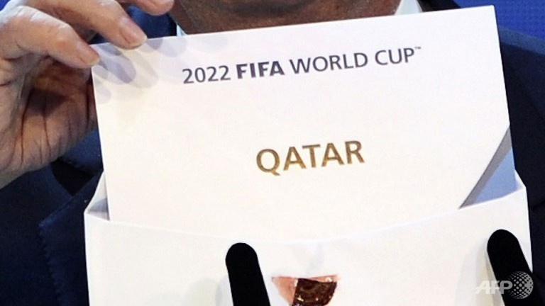 Qatar was awarded the right in 2010 to host the 2022 World Cup tournament.  (AFP PHOTO/FABRICE COFFRINI)