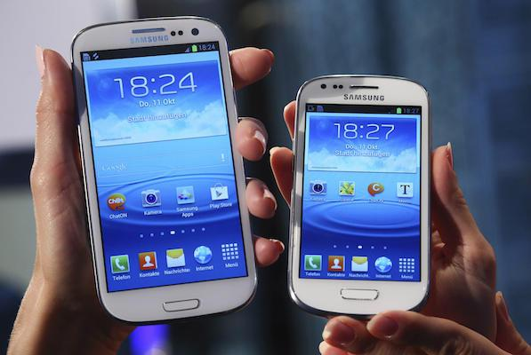 the Galaxy S4 mini has a similar look and feel to the Galaxy S4 but for more compact and practical usage