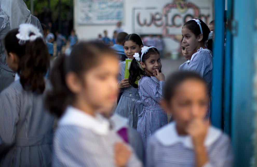 A report conducted by the 'I Saw Harassment' group demonstrates several cases of gender-based violence against teenage girls and children perpetrated by teachers at public or private schools. (AFP Photo)