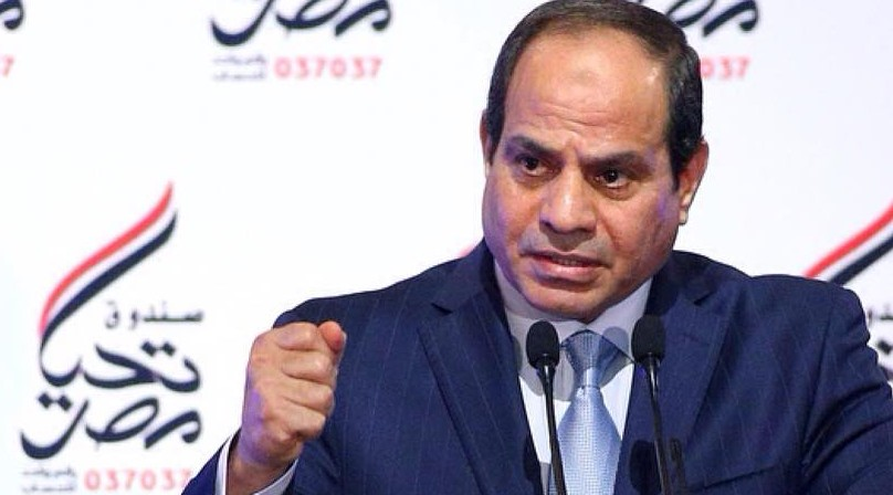 President Abdel Fattah Al-Sisi met Sunday with 11 newly appointed ambassadors to Egypt (Phoro Presidency Handout)