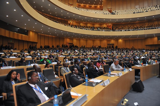 Egypt will participate in an African Union Summit this week in its first activity in the union since the lifting of an 11 month suspension.  (AFP File Photo)