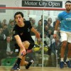 Egyptian Squash player Ali Farag, ranked 22nd internationally, won the 2016 Motor City Open International Squash Championship in Detroit, US.
