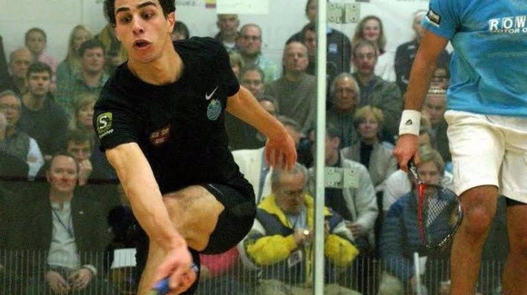 Egyptian Squash player Ali Farag, ranked 22nd internationally, won the 2016 Motor City Open International Squash Championship in Detroit, US.