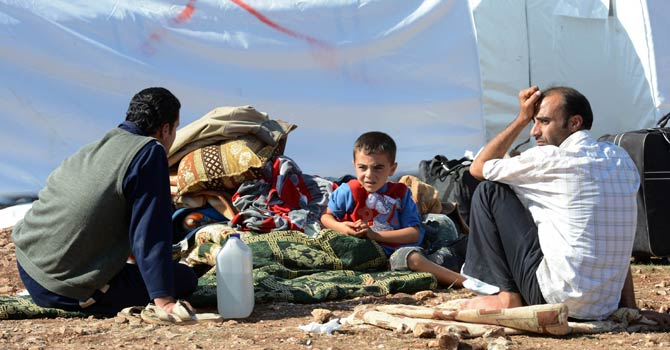 "The Foreign Ministry said on Wednesday that the recent Human Rights Watch report on refugees from Syria ""deliberately implied"" that the refugees suffer difficult conditions, describing this as ""incorrect.""  (AFP Photo)"