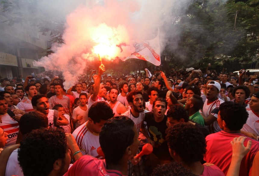 12 Zamalek fans referred to criminal court over Mortada Mansour 'assassination attempt' (DNE File Photo)