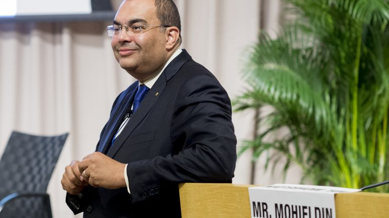 Mahmoud Mohieldin, UN Special Envoy on Financing the 2030 Agenda for Sustainable Development, has been elected as an Executive Directorat the International Monetary Fund (IMF) and representative for Egypt and the Arab Group.