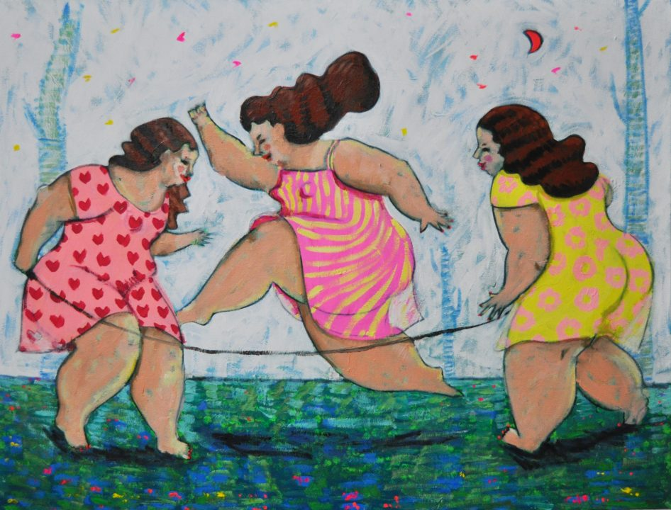 Young Artist Presents The Allure Of Being An Overweight Woman