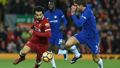 Premier League Salah liverpool vs Chelsea