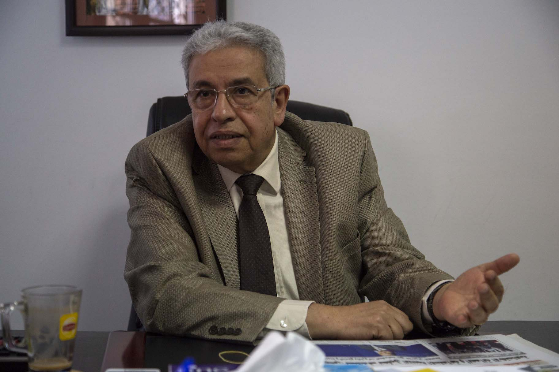 Democracy in Arab world leads to civil wars, I refuse calls to amend Constitution: Dr. Abdelmoneim El Saeed - Daily News Egypt