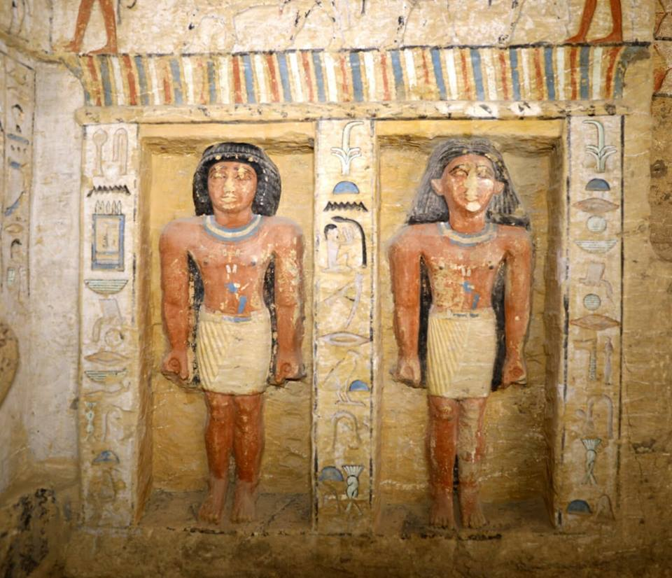 Tomb of Fifth Dynasty priest unearthed in Saqqara - Daily News Egypt