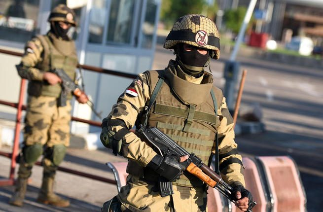 7 extremists killed in gunfight with security forces in North Sinai
