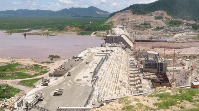 Grand Ethiopian Renaissance Dam (GERD) on the Blue Nile River Egypt Ethiopia Sudan Daily News Egypt