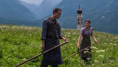 A Hidden Life follows the real-life story of Austrian farmer Franz Jägerstätter (August Diehl) who refuses to fight for the Nazis in World War II.