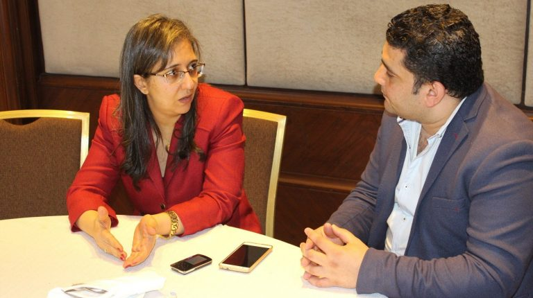 Chairperson of Egytrans, Abir Leheta