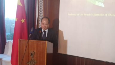Xiao Jun Zheng, China's Chargé d'Affaires to Egypt