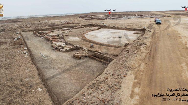 Ancient Roman Empire Senate unearthed near North Sinai - Daily News