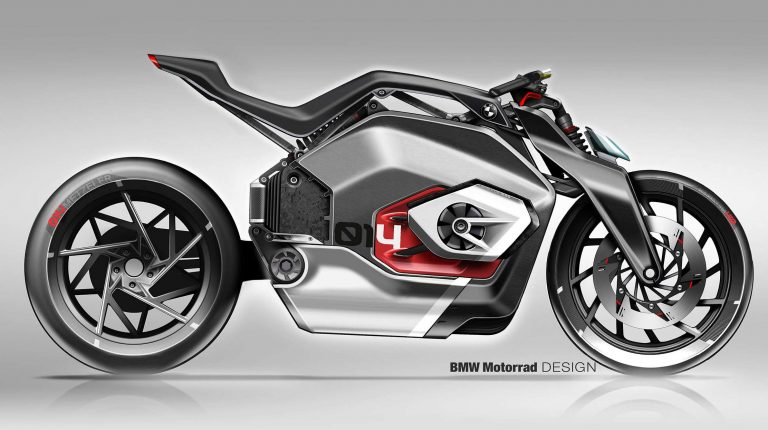 BMW's DC Roadster introduces new electric motorcycle concept