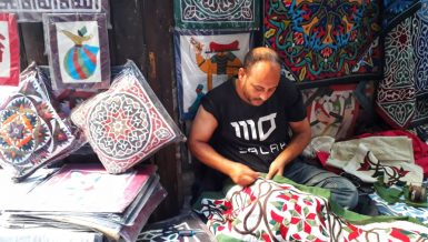 As an environmental researcher, Usama Ghazali travelled across the country, south, through deserts, villages, and unvisited regions, to explore real spirit of Egypt's handicrafts