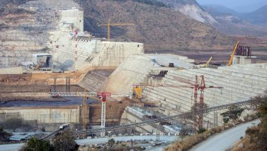 Grand Ethiopian Renaissance Dam (GERD) on the Blue Nile River Egypt Ethiopia Sudan Daily News Egypt