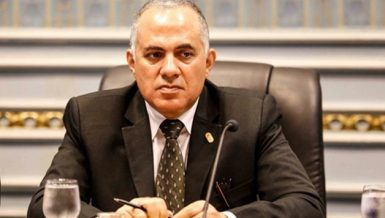 Egypt's Minister of Irrigation and Water Resources Mohamed Abdel-Aty