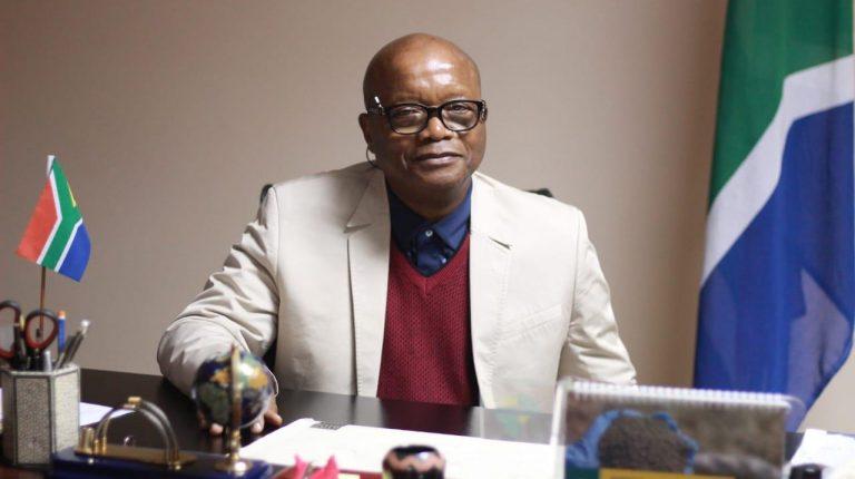 South Africa ambassador to Egypt Vusi Mavimbela