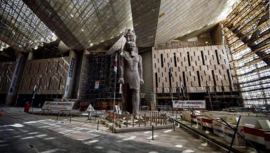 Egypt's Grand Egyptian Museum (GEM)