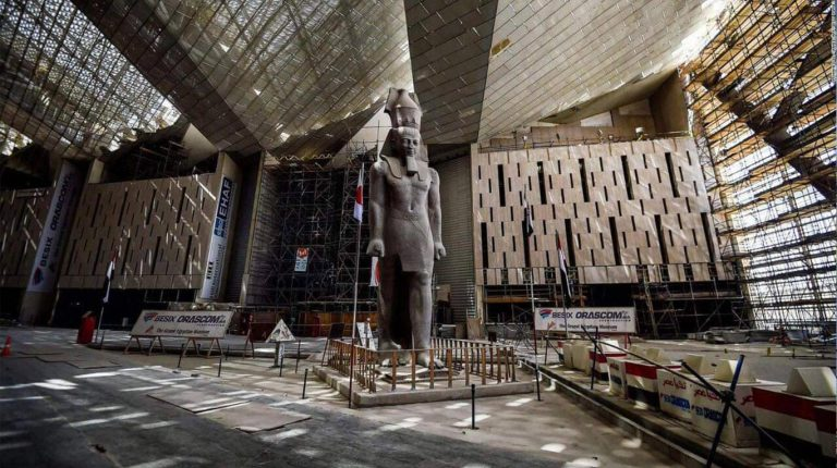 المتحف المصرى الكبير يحصل على شهادة الأيزو لإدارة البيئة والجودة