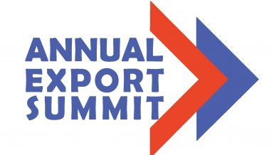 Annual Export Summit logo by Media Avenue