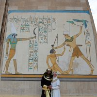 Ancient Egyptian drawings