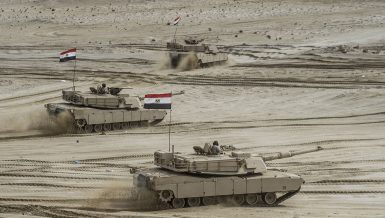 Egyptian army tanks during a military exercise Daily News Egypt
