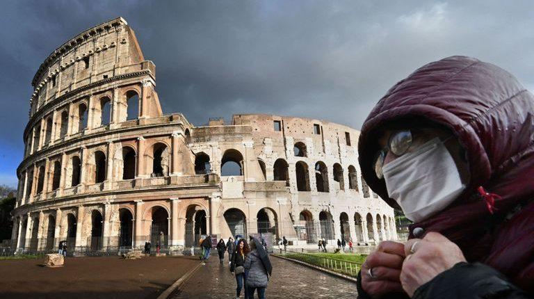 Rome during coronavirus lockdown