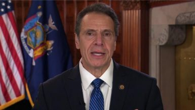 New York will restart its economy after the peak of the coronavirus outbreak in a multi-phase manner, New York Governor Andrew Cuomo said