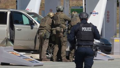 Shooting spree in Portapique, Nova Scotia province of Canada