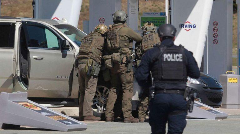 Shooting spree in Portapique, Nova Scotia province of Canada