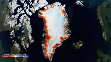 GreenLand ice sheets Credits: NASA's Goddard Space Flight Center