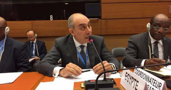 Ambassador Alaa Youssef, Egypt's Permanent Representative to the UN's Geneva headquarters Daily News Egypt