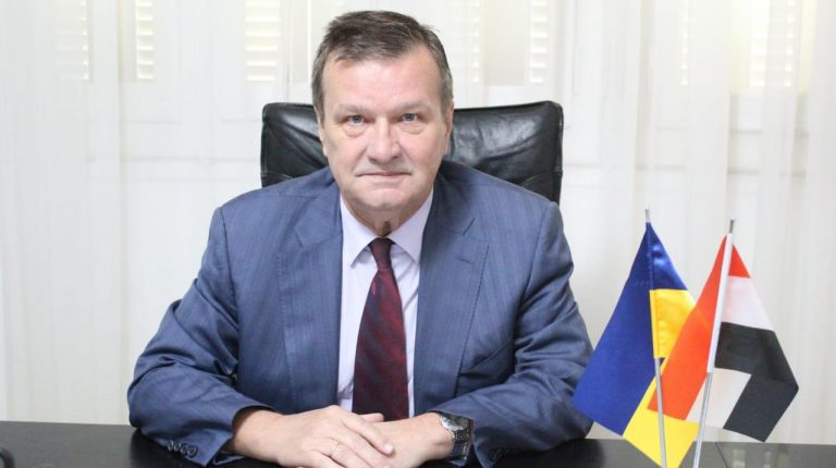 Ambassador of Ukraine to Egypt Yevhen Mykytenko Daily News Egypt