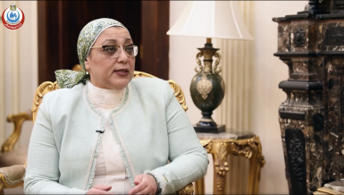 Dr Nancy El-Guindy, Director of Egypt's Central Public Health Laboratories (CPHL) Daily News Egypt