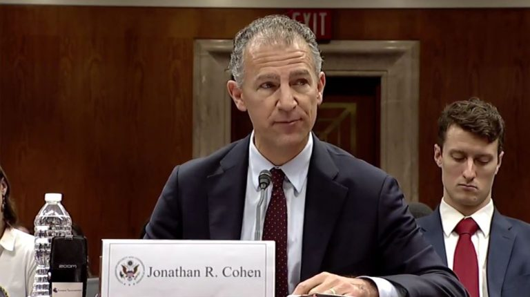 US Ambassador to Cairo Jonathan Cohen Daily News Egypt