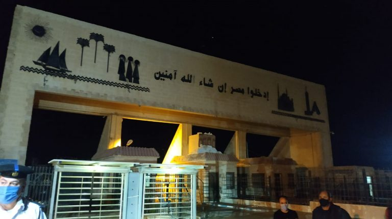 23 Egyptian workers recently abducted in Libya arrived to Egypt through Salloum border crossing