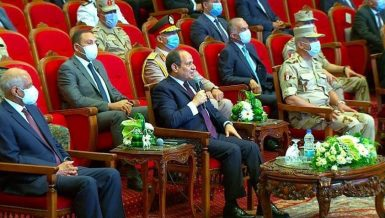 President Abdel Fattah Al-Sisi said his goal is to build a new Egypt that can provide a decent standard of living for Egyptians