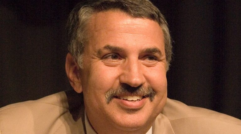 American author and journalist, Thomas Friedman Daily News Egypt Trump