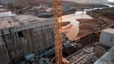Grand Ethiopian Renaissance Dam (GERD) on the Blue Nile River Egypt Ethiopia dam Sudan Daily News Egypt