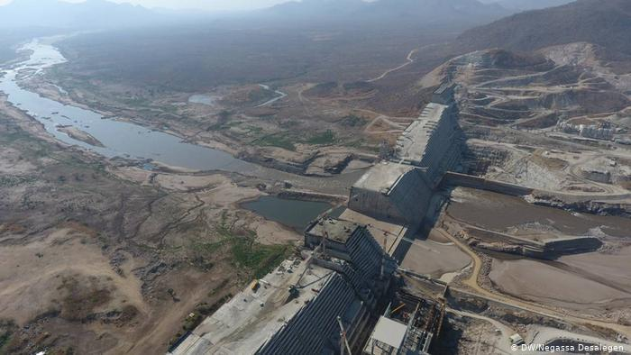 Grand Ethiopian Renaissance Dam (GERD) on the Blue Nile River Egypt Ethiopia Sudan Daily News Egypt Nile dam